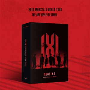 DVD/초도포스터/ 몬스타엑스 - 2019 MONSTA X WORLD TOUR [WE ARE HERE] IN SEOUL DVD