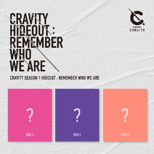 포스터+지관통 I CRAVITY (크래비티) SEASON1. [HIDEOUT: REMEMBER WHO WE ARE]