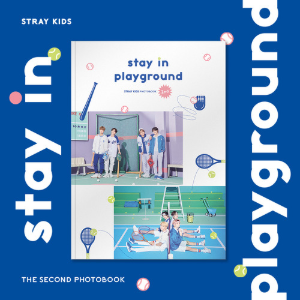 스트레이키즈 (STRAY KIDS) - 2nd PHOTOBOOK [stay in playground]