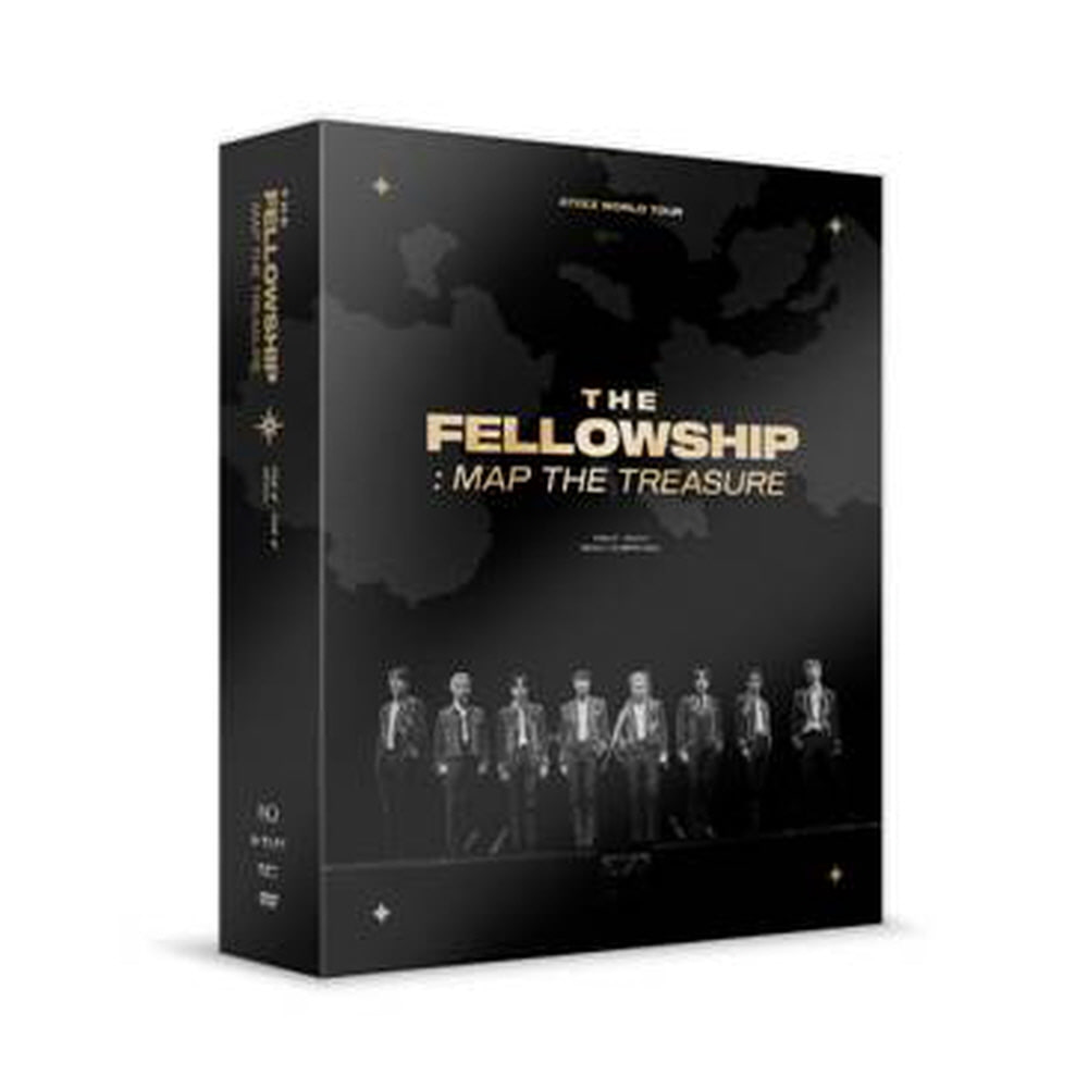 ATEEZ(에이티즈) WORLD TOUR [THE FELLOWSHIP : MAP THE TREASURE] IN SEOUL DVD