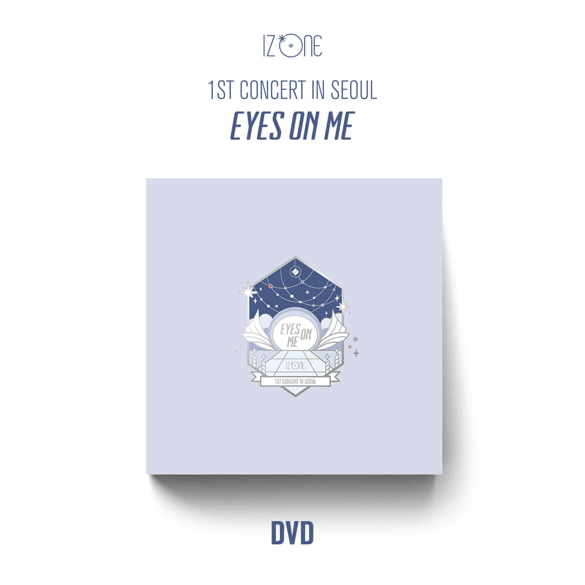 아이즈원(IZ*ONE) - 1ST CONCERT IN SEOUL [EYES ON ME] (DVD)