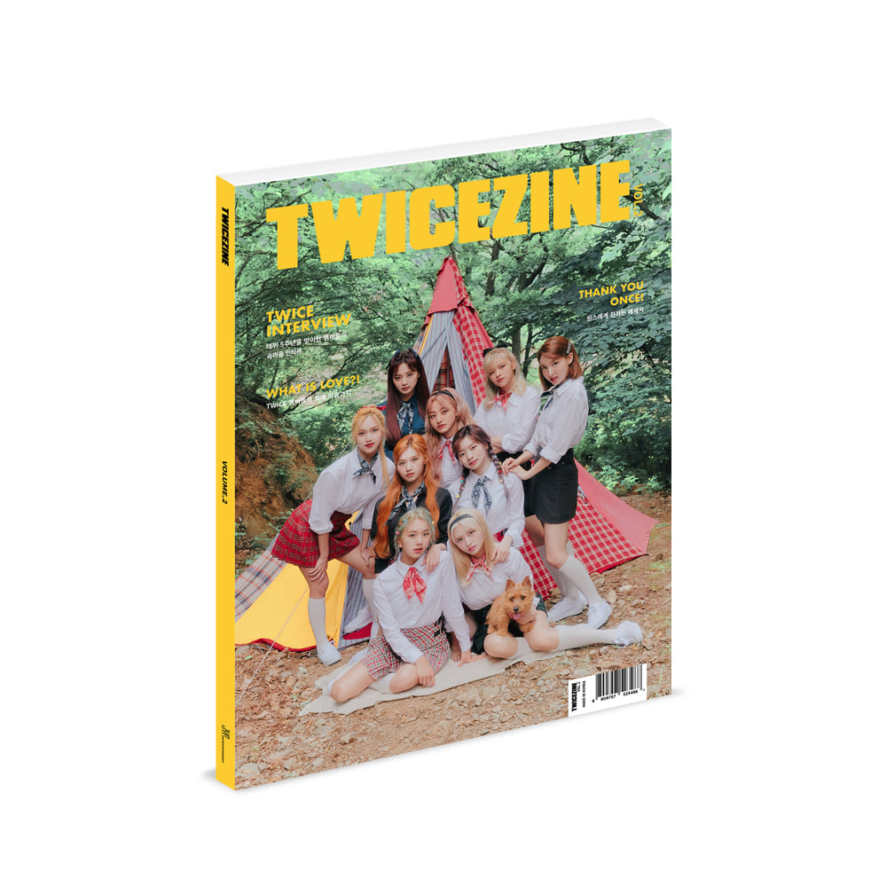 트와이스(TWICEZINE) - TWICEZINE VOL.2  [Photobook]