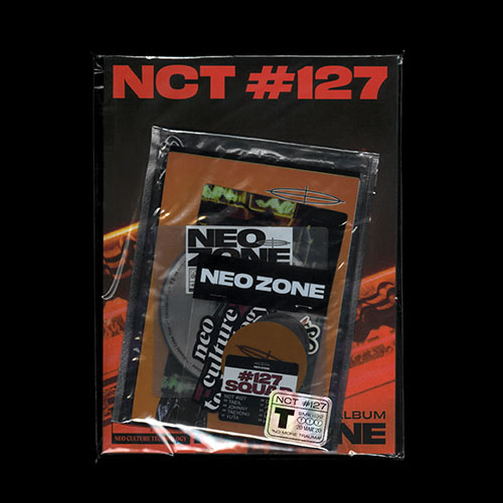 NCT 127(엔시티127) - 정규 2집 [NCT #127 Neo Zone] (T ver.) (재발매)